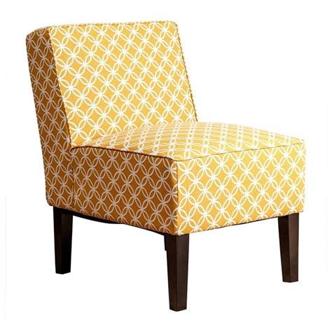 Mustard Yellow Accent Chair by Fiona Patterned Fabric Accent Chair In Mustard Yellow Mw