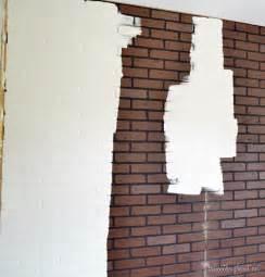 Lowe's Faux Brick Wall Paneling