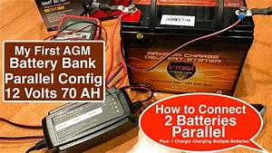 Easy To Follow Agm Battery Bank Parallel Configuration 2