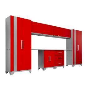 blue hawk garage cabinets blue hawk 72 in h x 56 in w x 16 in d metal garage cabinet