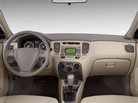 image  kia rio  door sedan auto lx dashboard size