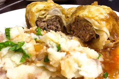 german cabbage rolls german kohlrouladen stuffed cabbage rolls recipe on food52