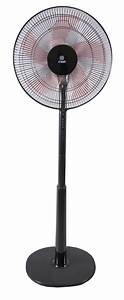 Stand Fan 16 U0026quot   With Remote  Black