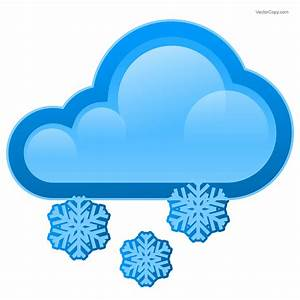 Snowy cloud icon Free Download Vector Clipart Image #77 ...