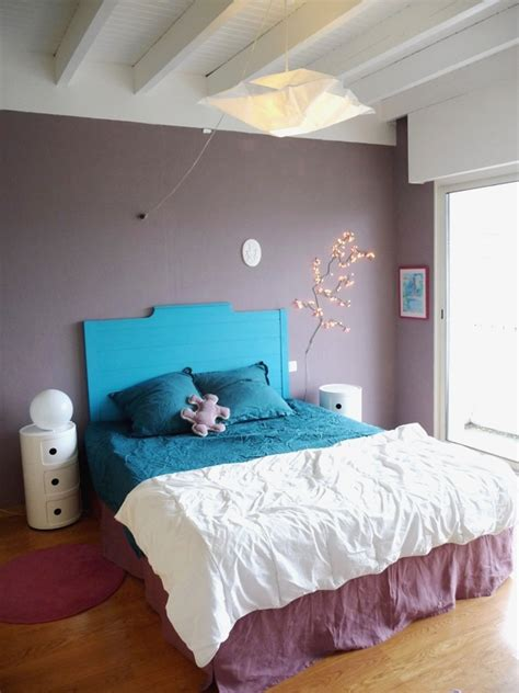 chambre mauve et bleu deco chambre violet et bleu ciabiz com