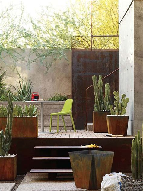 amazing diy ideas  outdoor rusted metal projects