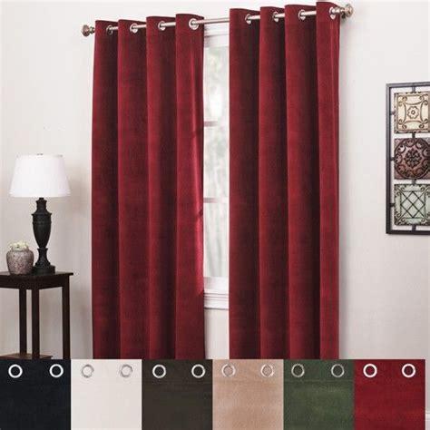 annas linens curtain rods s linens venetia velvet panel 84x54 9 99 shopping