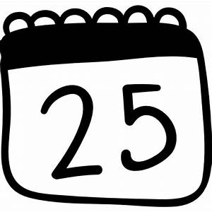 25th of December - Free signs icons