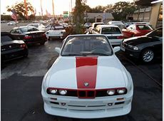 Classic 1987 BMW 325i Custom E30 Widebody Convertible for