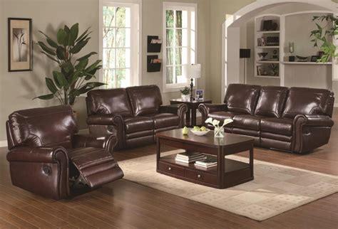 living room decor with leather sofa living room ideas brown leather sofa brokeasshome com