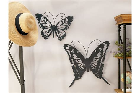 Shop for wall art sets in wall art. Metal Butterfly Wall Decor You'll Love in 2021 - VisualHunt