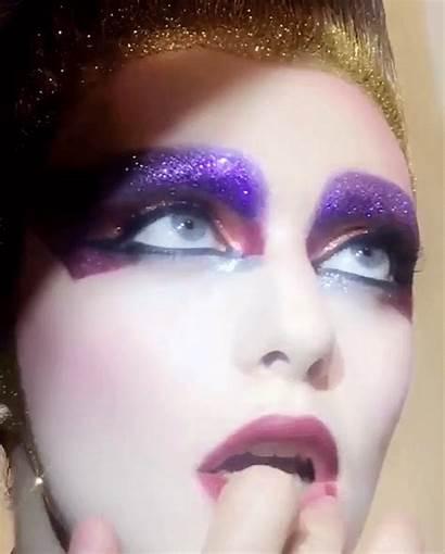 Glitter Makeup Lips Sparkle Vogue Bright Face