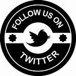 Follow Icon Retro Button Circular Badge Icons