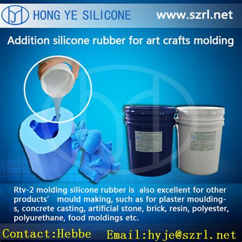 China Silicone RTV Mold Making Rubber Manufacturer China