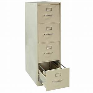 hon used 4 drawer letter vertical file putty national With hon 4 drawer letter file cabinet