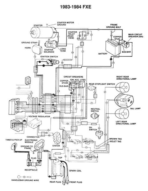 Harley Davidson Golf Cart Wiring Diagram Pdf by Diagrams And Manuals For Softail Harley Davidson 1966