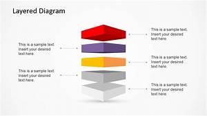 3d Layered Diagram Template For Powerpoint