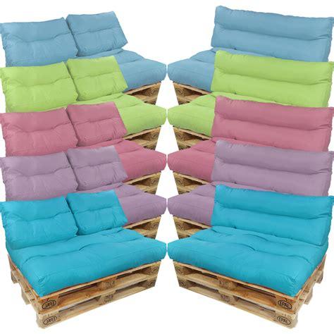 sitz lounge aus paletten einfach und g 252 palettenkissen paletten sofa auflage sitzpolster palettenpolster sitzkissen ebay