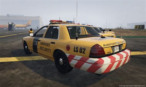 Airport Cars by Airport Security Cvpi Gta5 Mods