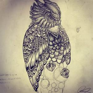 Images Of Owl Clock Tattoo Meaning Golfclub