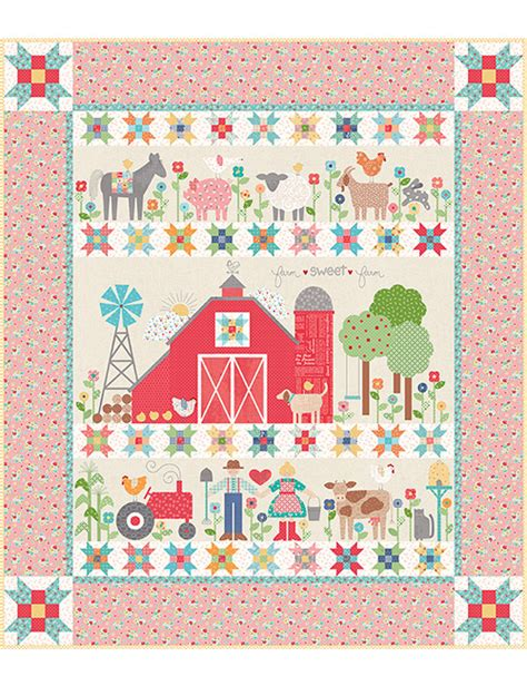 farm sweet farm sew  riley blake designs