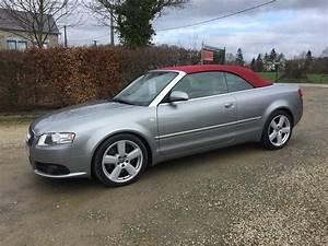Audi A4 Cabriolet : used audi a4 year 2007 124 500 km reezocar ~ Melissatoandfro.com Idées de Décoration