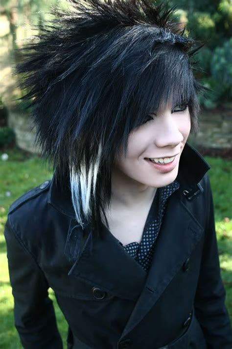 15 different emo hairstyles for boys xpressmag
