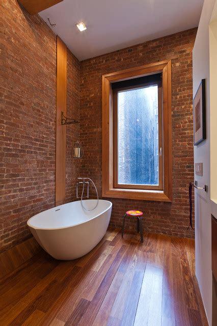 humidite mur salle de bain des salles de bain avec un mur en briques bricobistro