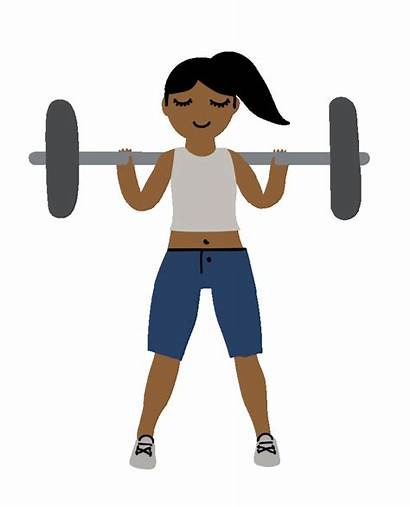 Weight Giphy Lift Sticker Lifting Animation Strong