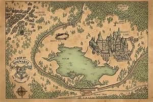 Hogwarts Map   My blog