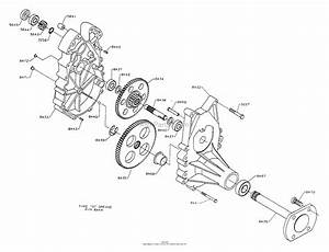 Dixon Ztr 5501  1994  Parts Diagram For Gearbox Assembly
