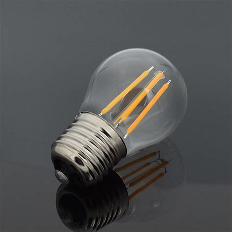 e27 e14 e12 dimmable edison filament light led bulb