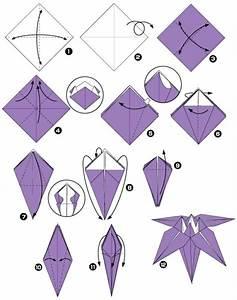 Fleur En Origami Facile : un origami facile fleur offrir ou pour vous amuser ~ Farleysfitness.com Idées de Décoration