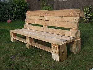 Fabriquer Un Banc De Jardin Original : faire un banc en palette ides ~ Melissatoandfro.com Idées de Décoration