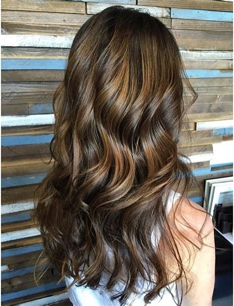 beachy brunette  highlights neil george