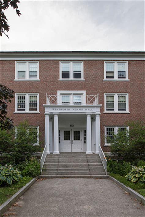 wentworth adams hall residence life health education bates college
