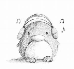 Penguin drawing | Drawing ideas | Pinterest | Penguin ...