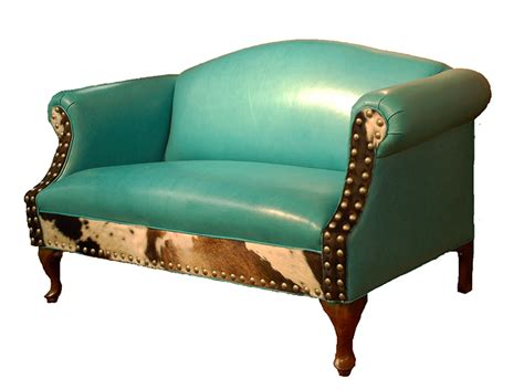 turquoise sofas loveseats albuquerque turquoise leather settee western sofas and