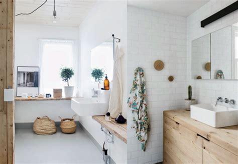meuble salle de bain sensea une salle de bains en blanc et bois joli place