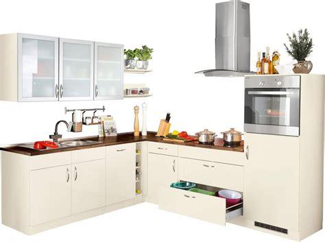 küchenzeile 260 cm winkelk 252 che mit elektroger 228 ten 187 peru 171 260 x 235 cm kaufen otto