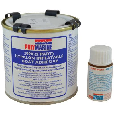 Boat Parts Whitworths by Polymarine Pvc Boat Adhesive 2 Part 250ml 49