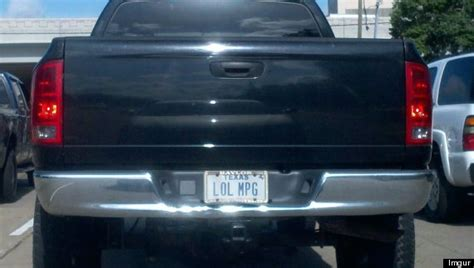 An Amusing List Of Custom Number Plates
