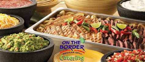 On The Border Catering Menu Prices  2015 On The Border