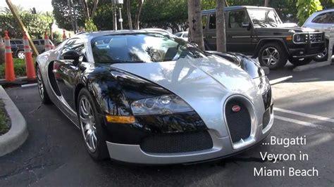 Bugatti In Miami by Bugatti Veyron In Miami Angle And Driving