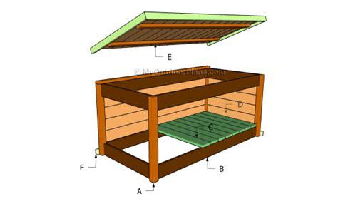 pdf diy outdoor cedar storage box plans office