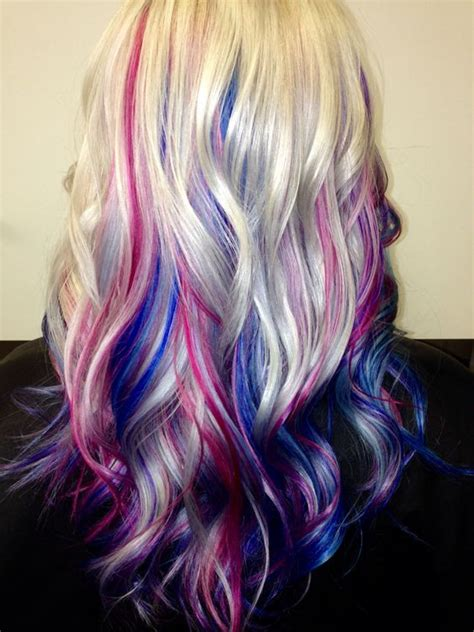 Pin By Monica Henry On Blue Hair In 2019 Pink Blonde