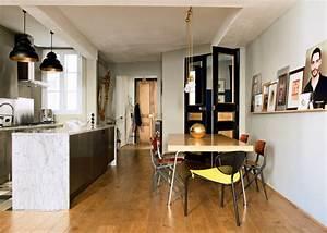 Cuisine moderne nos idees deco pour la rendre conviviale for Idee deco cuisine avec lit design
