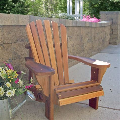 wood adirondack chair home design