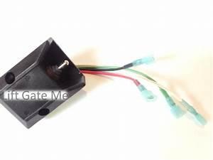 Maxon 4 Wire Up Down Tuck Under Switch