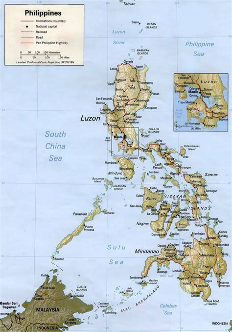 Maps Of Philippines  Detailed Map Of Philippines In